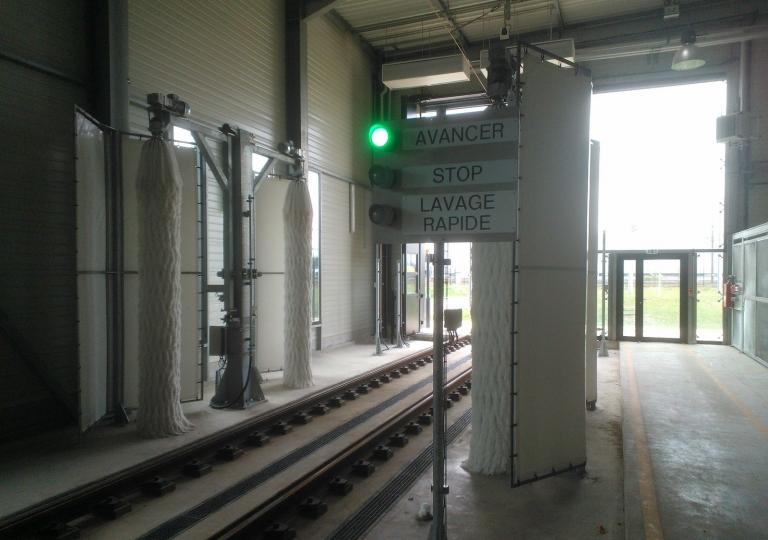 3-Train Wash